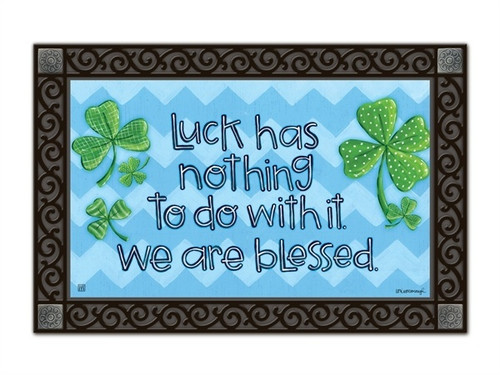 "Irish Blessings MatMates Doormat - 18"" x 30"""
