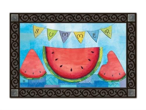 """Summer Slice MatMates Doormat - 18"""" x 30"""""""