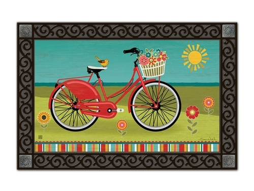"Summer Ride MatMates Doormat - 18"" x 30"""