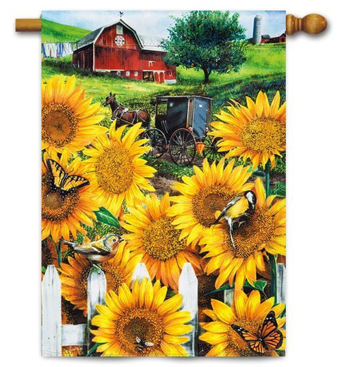 "Country Paradise House Flag - 29"" x 43"""