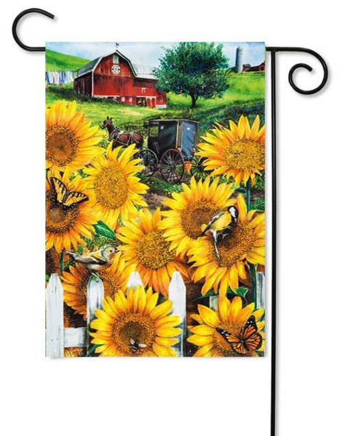 "Country Paradise Garden Flag - 12.5"" x 18"""