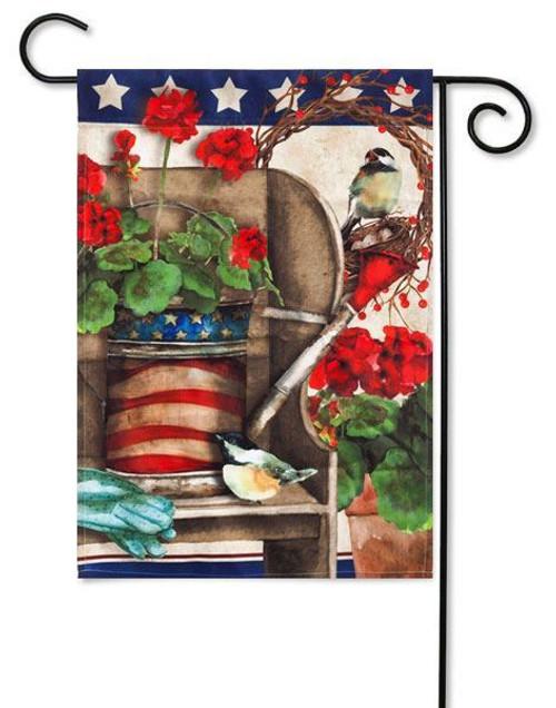 "Patriotic Garden Garden Flag - 12.5"" x 18"""