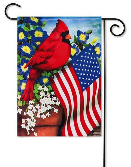"Cardinal Glory Garden Flag - 12.5"" x 18"""