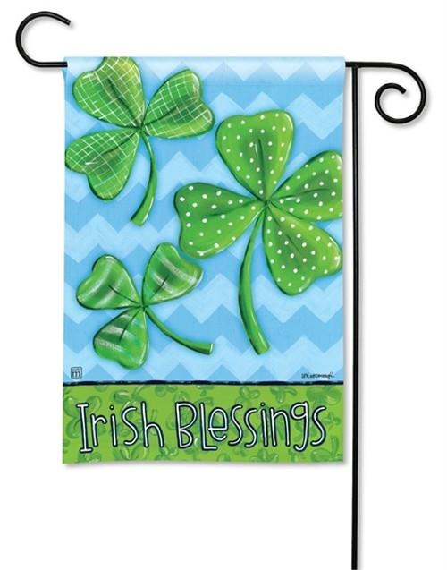 "Irish Blessings Garden Flag - 12.5"" x 18"" - BreezeArt"