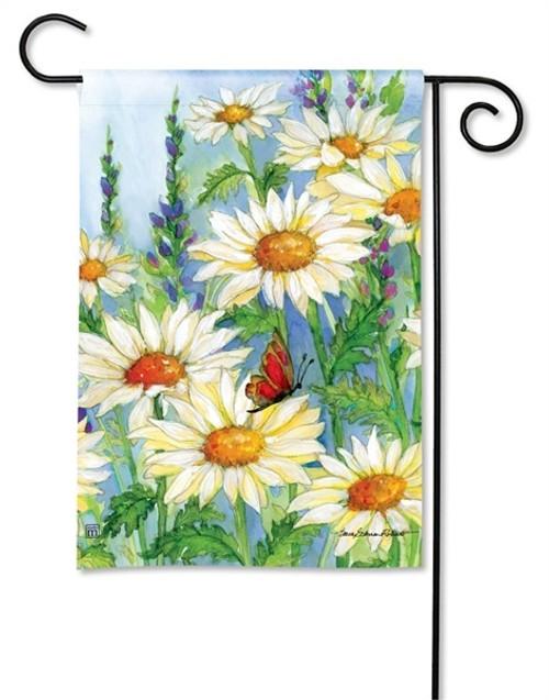 "Shasta Daisies Garden Flag - 12.5"" x 18"" - BreezeArt"