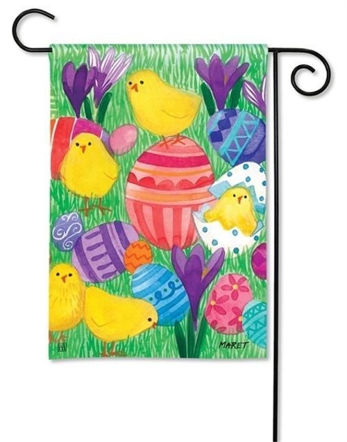 "Chicky Babes Garden Flag - 12.5"" x 18"" - BreezeArt"