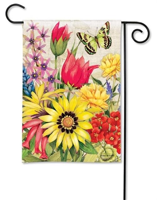 """Botanical Garden Garden Flag - 12.5"""" x 18"""" - BreezeArt"""