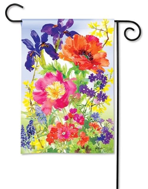 "Garden Blooms Garden Flag - 12.5"" x 18"" - BreezeArt"
