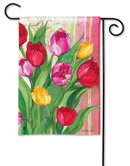 """Glorious Garden Spring Garden Flag - 12.5"""" x 18"""" - BreezeArt"""