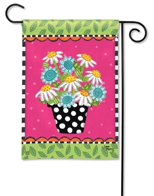"Frolic Flowers Garden Flag - 12.5"" x 18"" - BreezeArt"