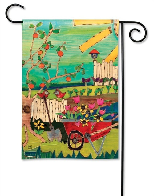 "Dig in the Dirt Garden Flag - 12.5"" x 18"" - BreezeArt"