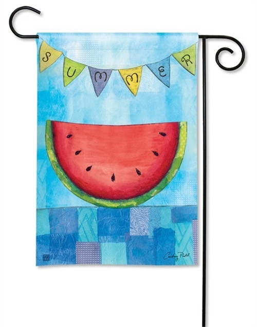 "Summer Slice Garden Flag - 12.5"" x 18"" - BreezeArt"