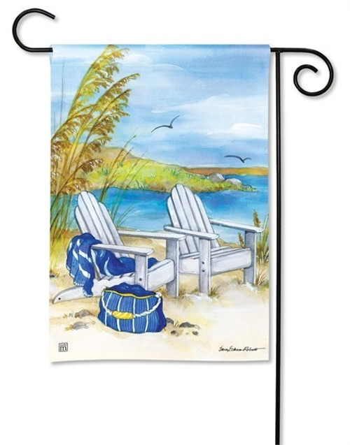 "Waterside Garden Flag - 12.5"" x 18"" - BreezeArt"