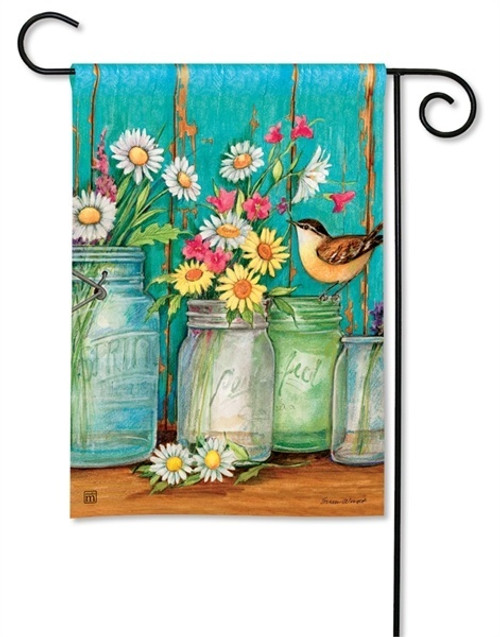 "Just Picked Garden Flag - 12.5"" x 18"" - BreezeArt"