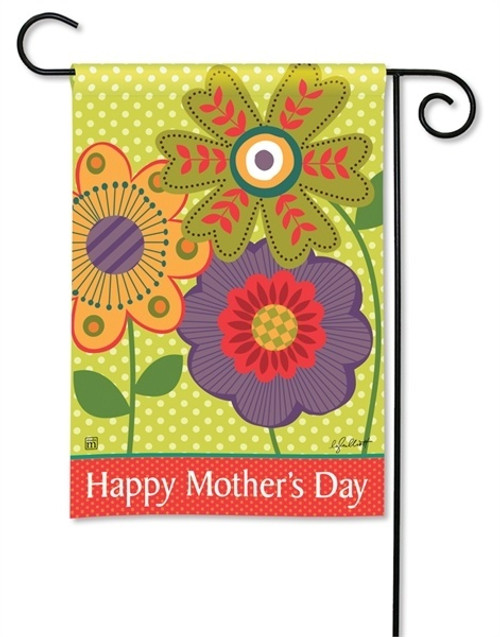 "Mom's Day Garden Flag - 12.5"" x 18"" - BreezeArt"