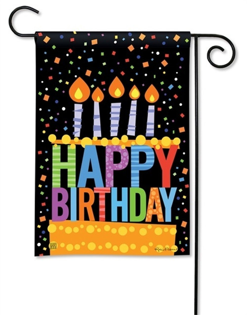 Birthday Garden Flag - BreezeArt