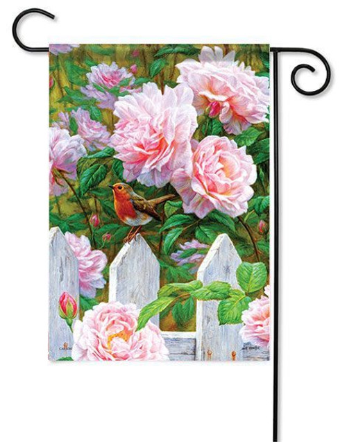 "Rose Garden Garden Flag - 13"" x 18"" - Flag Trends"