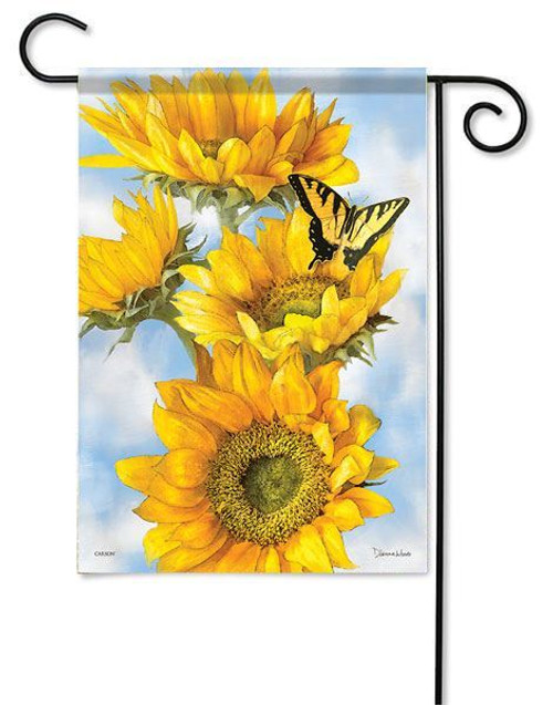 "Golden Sunflowers Garden Flag - 13"" x 18"" - Flag Trends"