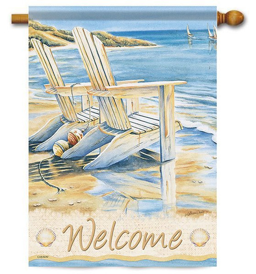 "Quiet Moments House Flag - 28"" x 40"" - 2 Sided Message"