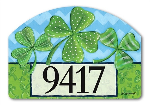 "Irish Blessings Yard DeSign Address Sign - 14"" x 10"""