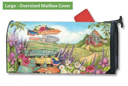 LARGE Oversized Mailbox Cover - Signs of Summer