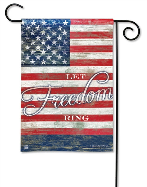 "Let Freedom Ring Garden Flag - 12.5"" x 18"" - BreezeArt"