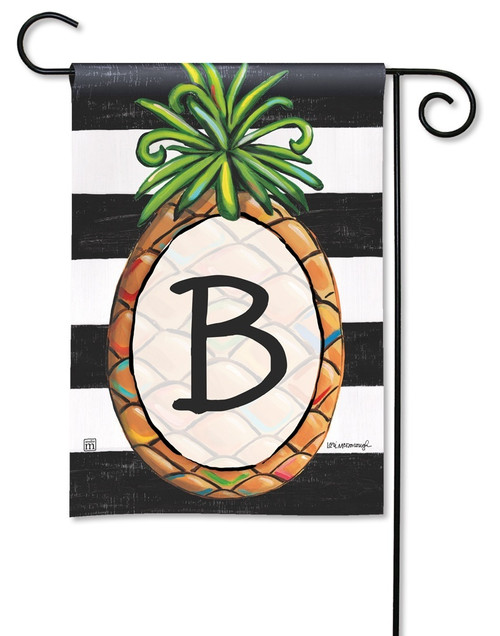 "Southern Welcome Monogram Garden Flag Letter B - 12.5"" x 18"""