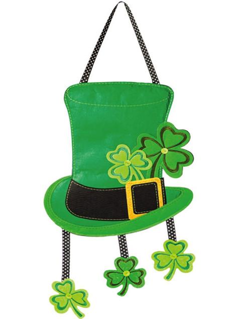 """Lucky St. Patrick's Day Door Decor - 15"""" x 30"""" - Hang on Your Door"""