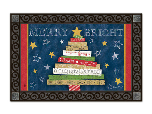 "Songs of Christmas MatMates Doormat - 18"" x 30"""