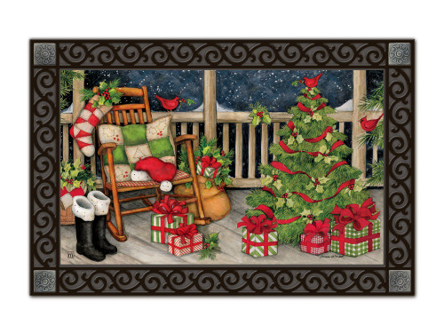 Santa's Porch MatMates Doormat - Tray Sold Separately