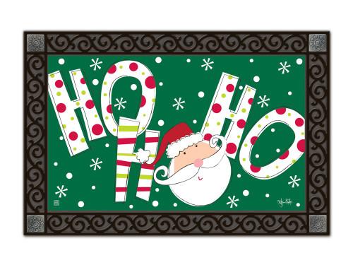 """Santa Says MatMates Doormat - 18"""" x 30"""""""