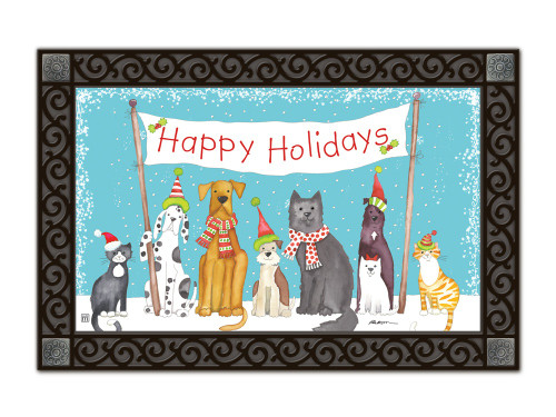 "Pet Holiday MatMates Doormat - 18"" x 30"""
