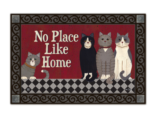 "Kitties at Home MatMates Doormat - 18"" x 30"""