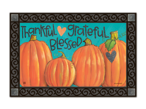 "Grateful MatMates Doormat - 18"" x 30"""