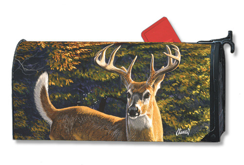 Whitetail Buck Magnetic Mailbox Cover
