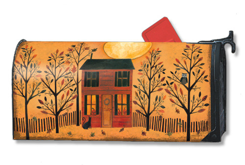 Halloween Glow Magnetic Mailbox Cover