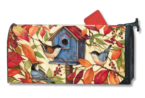 Welcome Neighbors Magnetic Mailbox Cover