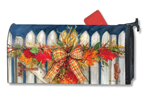 Autumn Gate Magnetic Mailbox Cover