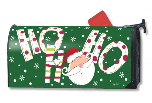 Santa Says Magnetic Mailbox Cover