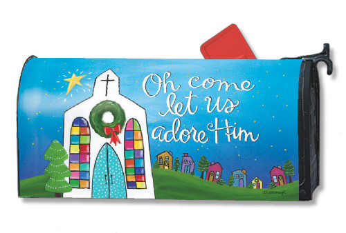 Adore Him Magnetic Mailbox Cover