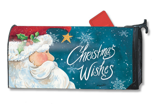 Santa Wishes Magnetic Mailbox Cover