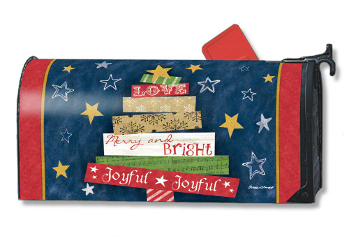Songs of Christmas Magnetic Mailbox Cover