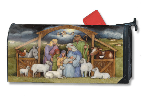 Holy Family Magnetic Mailbox Cover