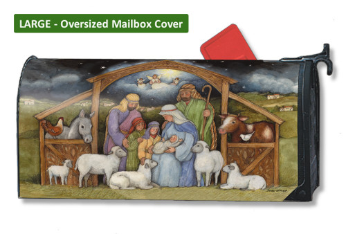 Holy Family LARGE Magnetic Mailbox Cover