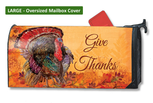 Proud Turkey LARGE Magnetic Mailbox Cover