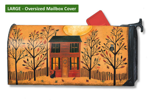 Halloween Glow LARGE Magnetic Mailbox Cover