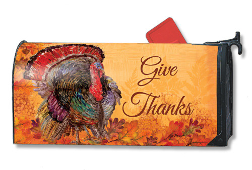 Proud Turkey Magnetic Mailbox Cover
