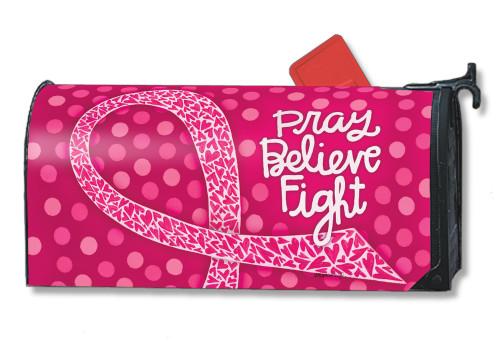 Think Pink Magnetic Mailbox Cover