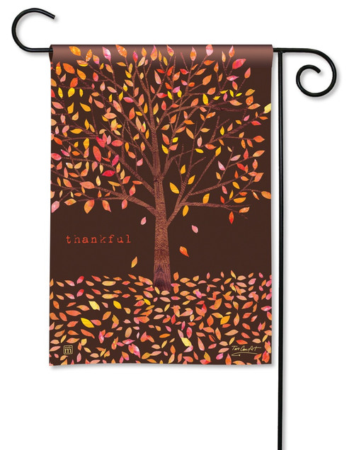 "Thankful Garden Flag - 12.5"" x 18"" - BreezeArt"