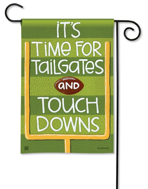"Touchdown Garden Flag - 12.5"" x 18"" - BreezeArt"